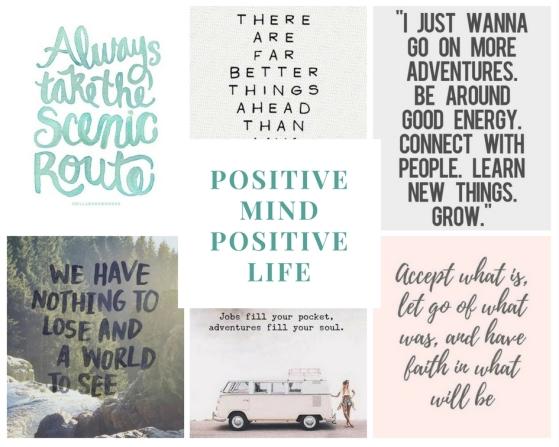 Positive mind postive life